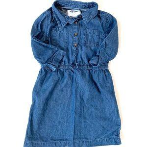 Old Navy Toddler Girl Chambray Dress